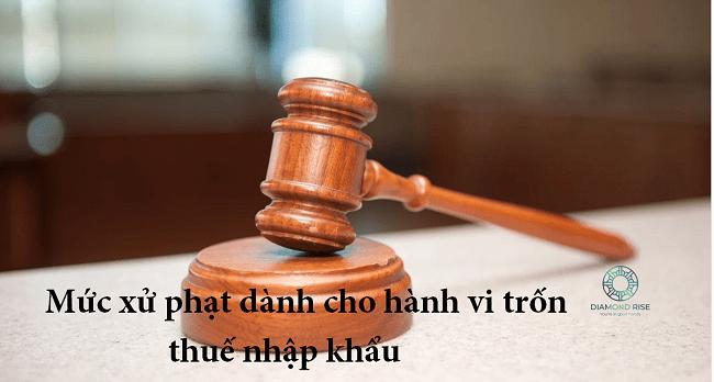 hình phạt cho hành vi không nộp thuế